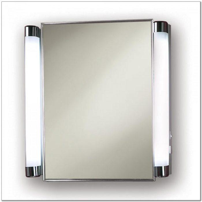 Small Lighted Mirror Medicine Cabinet