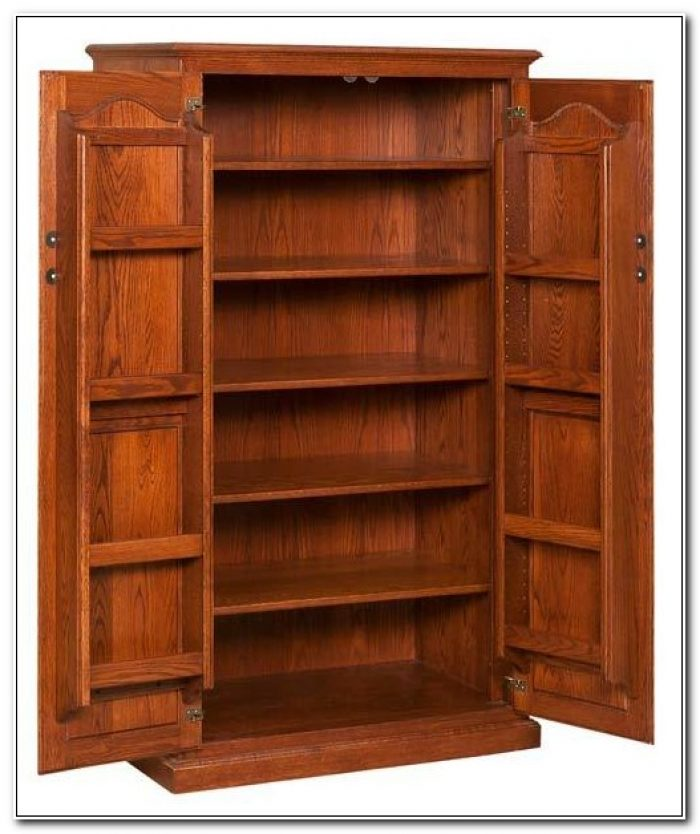 Solid Oak Pantry Cupboard