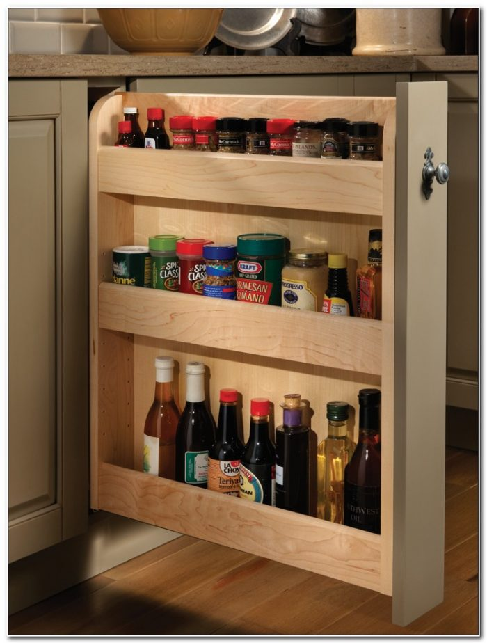 Spice Pull Out Cabinet