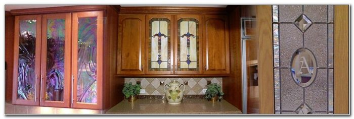 Stained Glass For Kitchen Cabinets