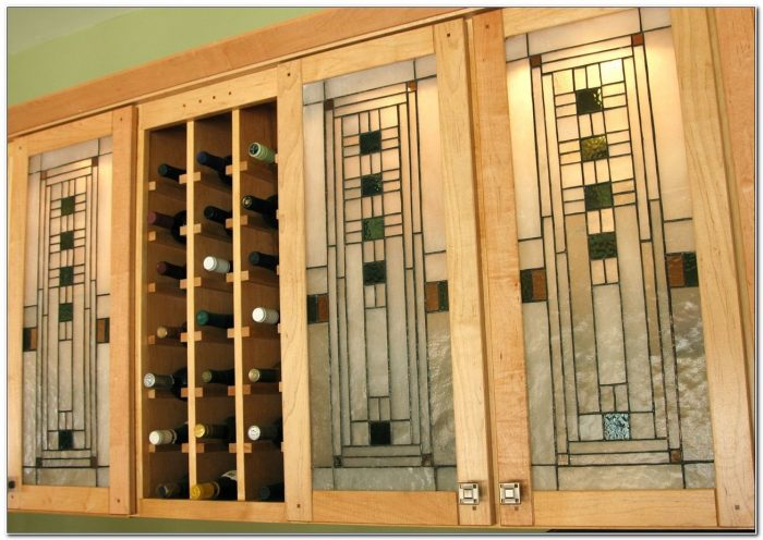 Stained Glass Kitchen Cabinet Doors