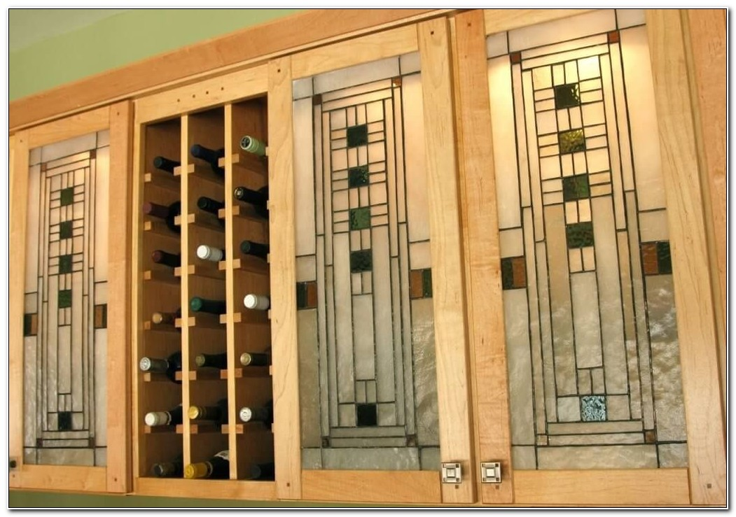 Stained Glass Kitchen Cupboard Doors