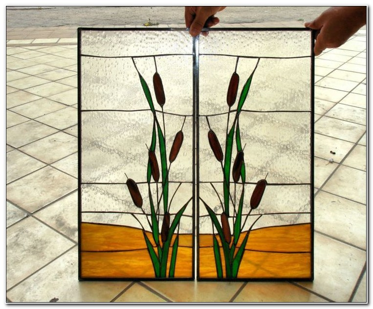 Stained Glass Panels For Kitchen Cabinets