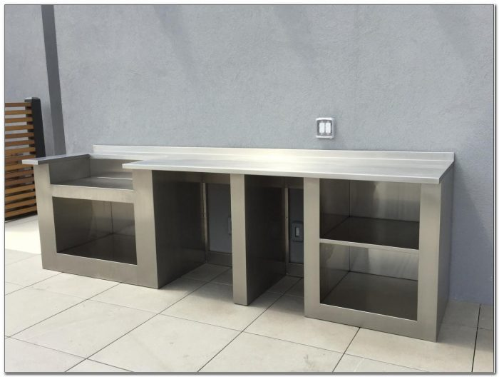 Stainless Steel Barbecue Cabinets