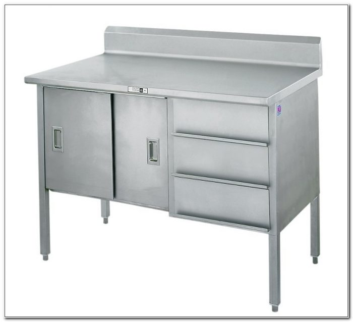 Stainless Steel Base Cabinet With Drawers
