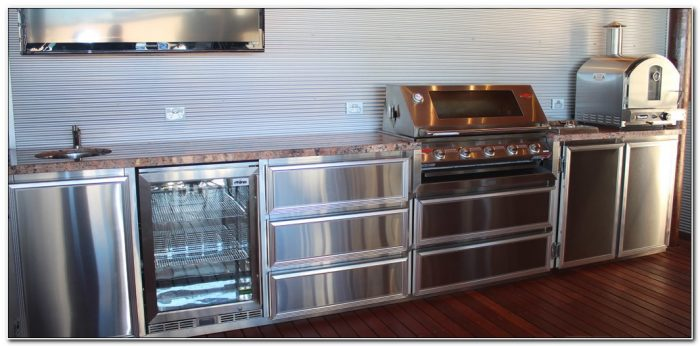 Stainless Steel Bbq Cabinets