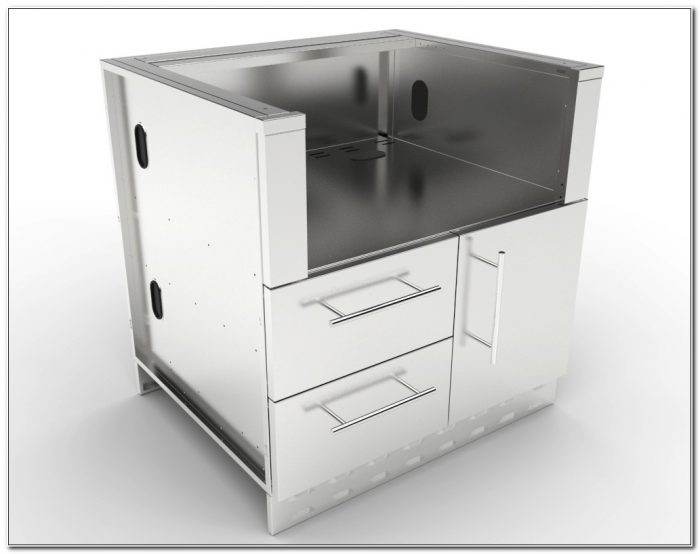 Stainless Steel Grill Cabinets