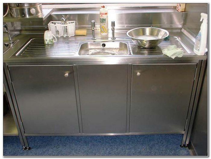 Stainless Steel Kitchen Sink Cabinets