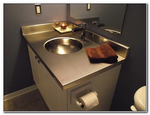 Stainless Steel Sink And Vanity