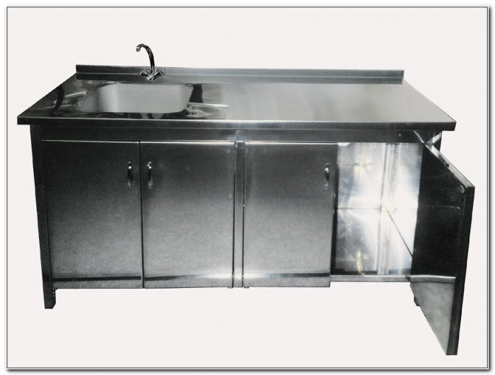 Stainless Steel Sink Cabinets