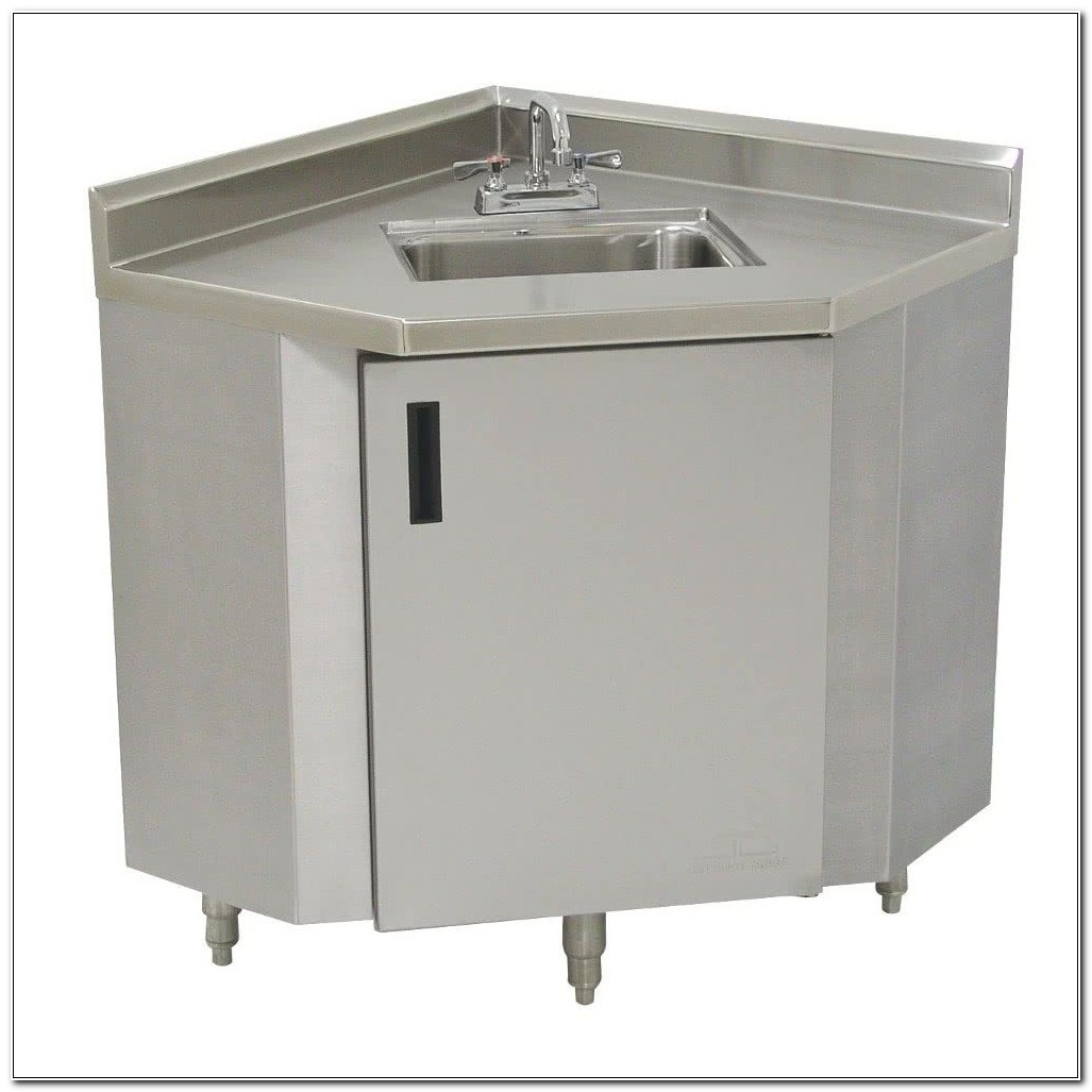 Stainless Steel Sink With Cabinet