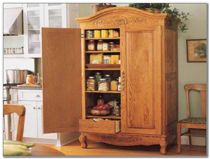 Stand Alone Oak Kitchen Cabinets