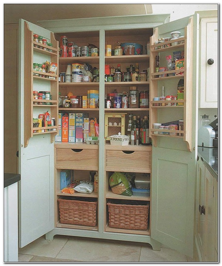 Stand Alone Pantry Cupboard