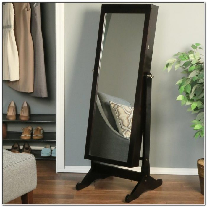 Standing Jewelry Cabinet With Mirror Australia
