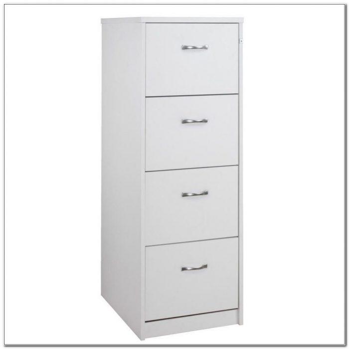 Staples Black 4 Drawer File Cabinet