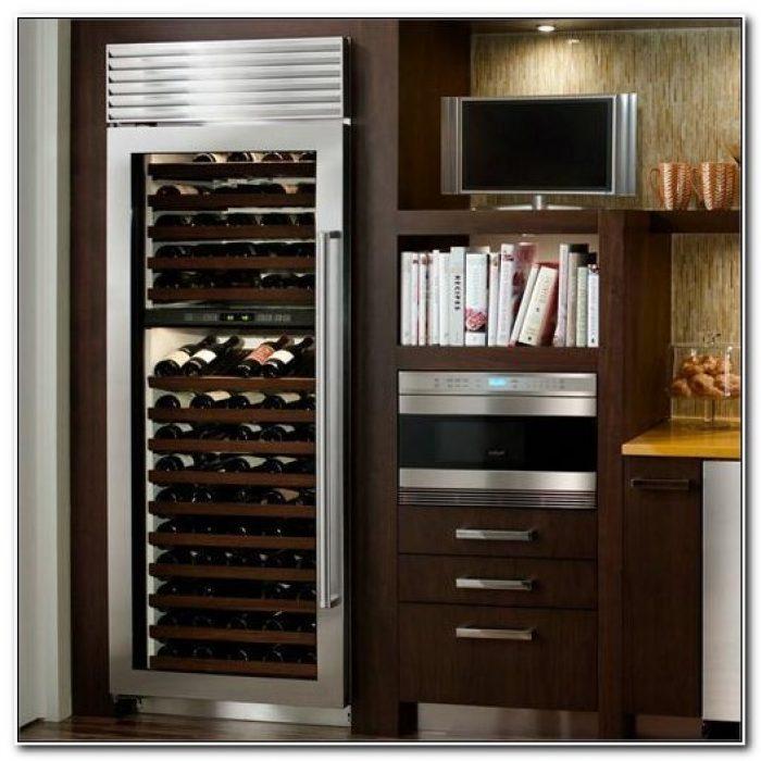Sub Zero Wine Cabinet