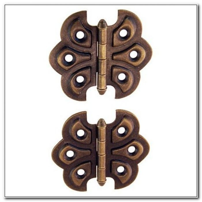 Surface Mount Cabinet Hinges Bronze