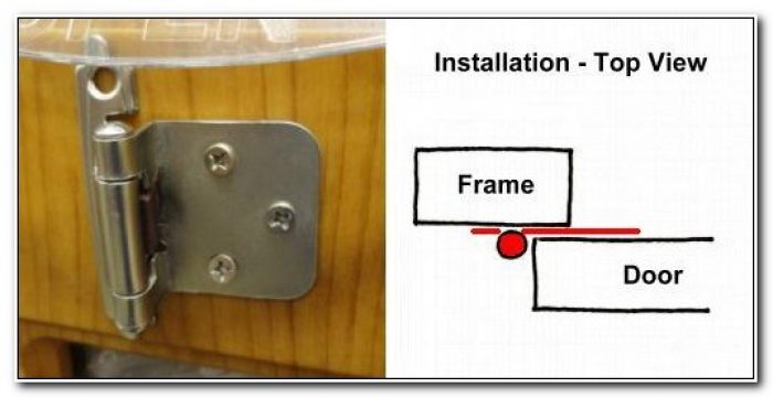 Surface Mount Overlay Cabinet Hinges