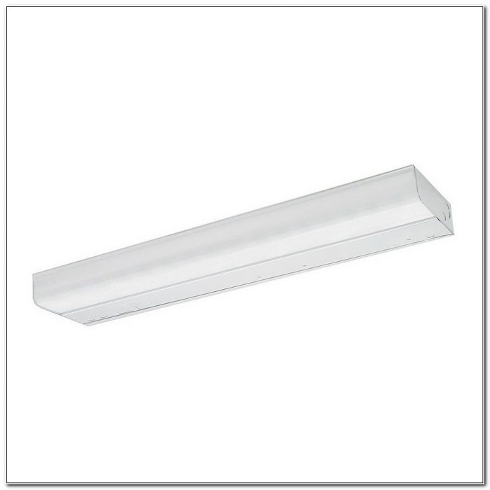 T2 Fluorescent Under Cabinet Light Fixture