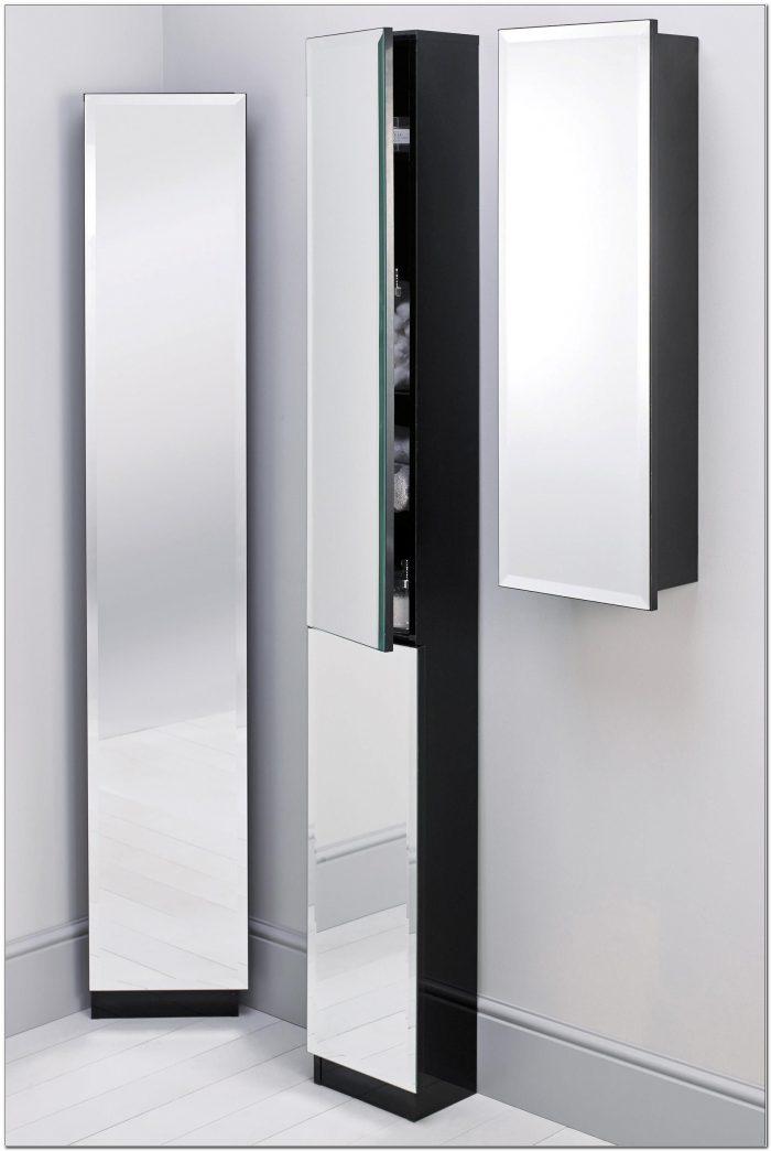 Tall Bathroom Storage Cabinet With Mirror