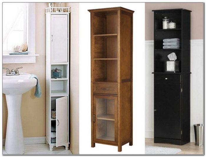 Tall Skinny Bathroom Storage Cabinet