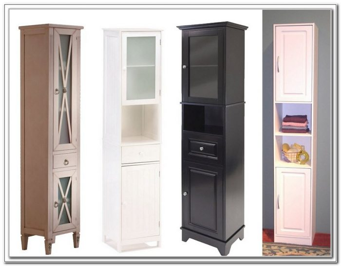 Tall Skinny Cabinet With Doors