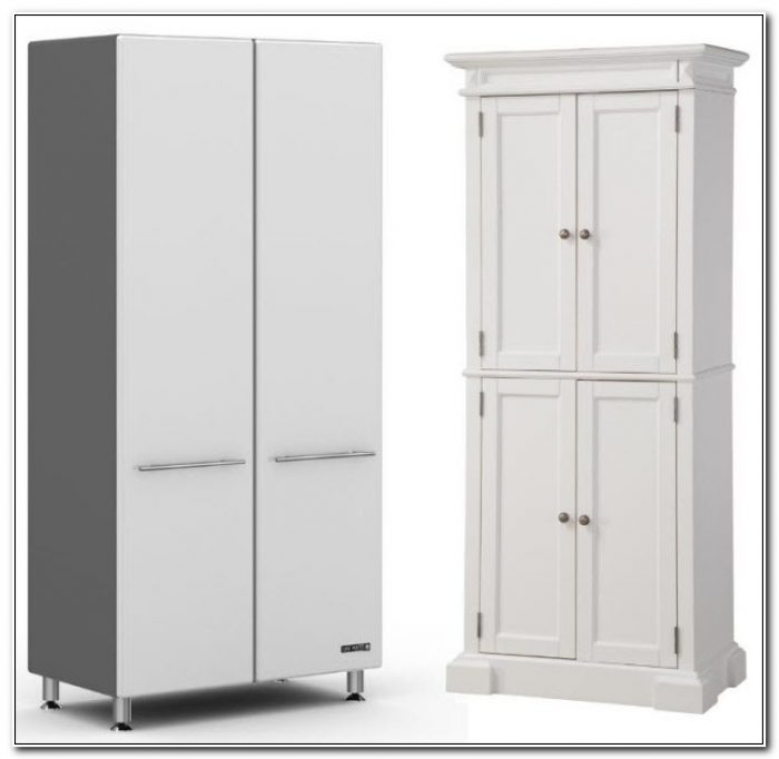 Tall Storage Cabinet With Doors And Shelves