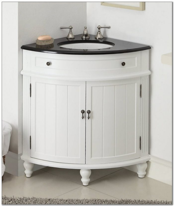 Thomasville Corner Sink Bathroom Vanity