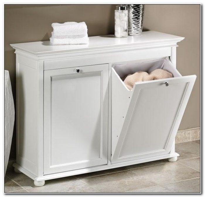 Tilt Out Laundry Hamper Cabinet Australia