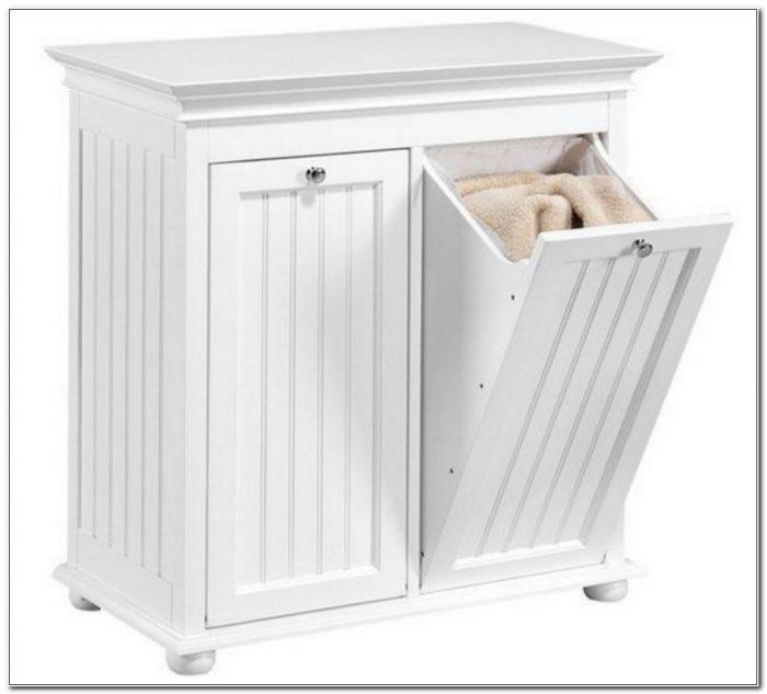 Tilt Out Laundry Hamper Cabinet Uk