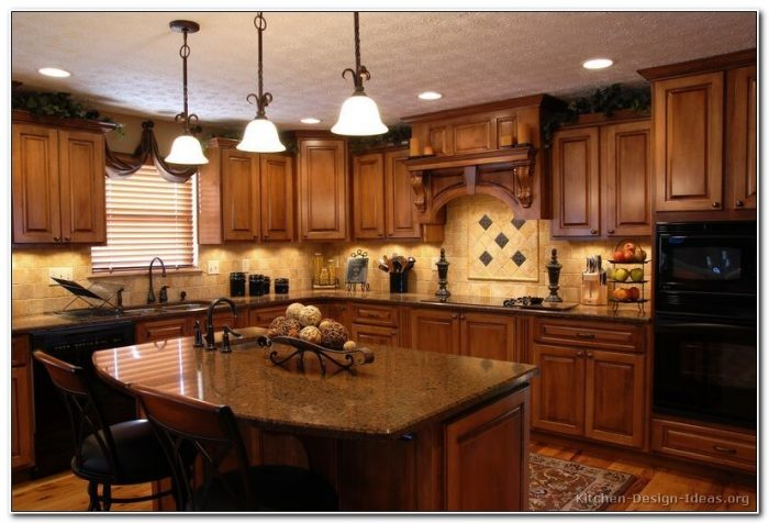 Tuscan Style Kitchen Design Ideas
