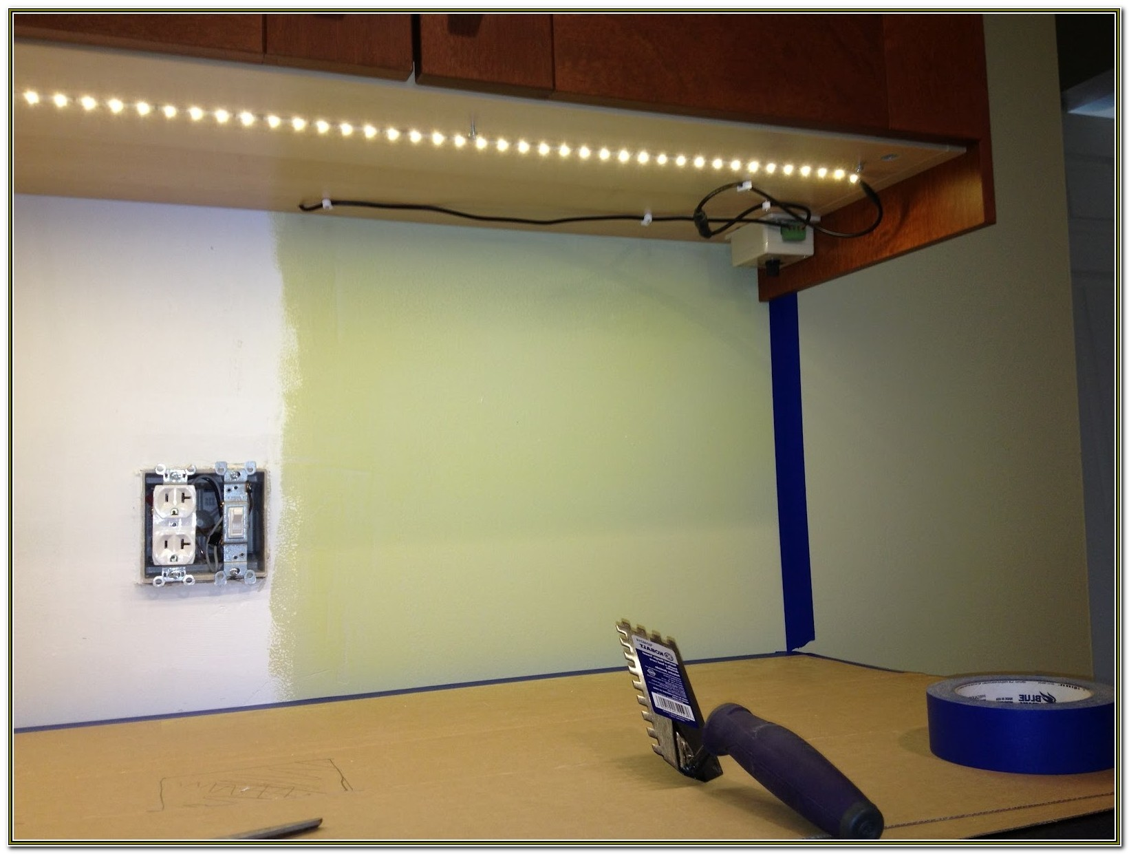 Under Cabinet Led Lighting Hardwired Dimmable