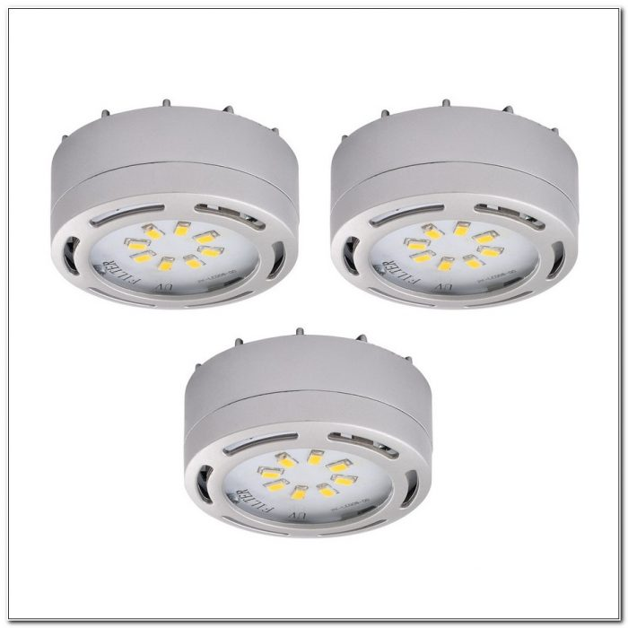 Under Cabinet Puck Lighting 120v