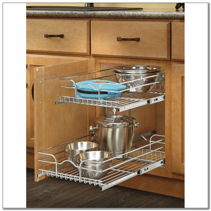 Under Cabinet Pull Out Baskets