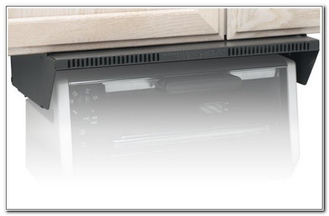 Under Cabinet Toaster Oven Mounting Kit
