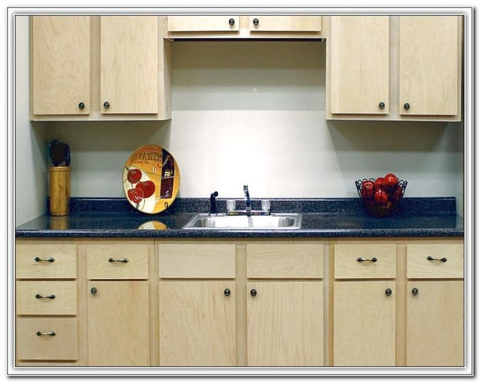 Unfinished Birch Kitchen Cabinets