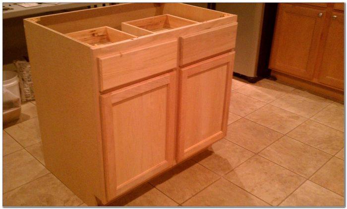 Unfinished Kitchen Island Base Cabinets