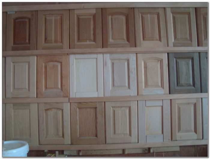 Unfinished Solid Wood Kitchen Cabinet Doors