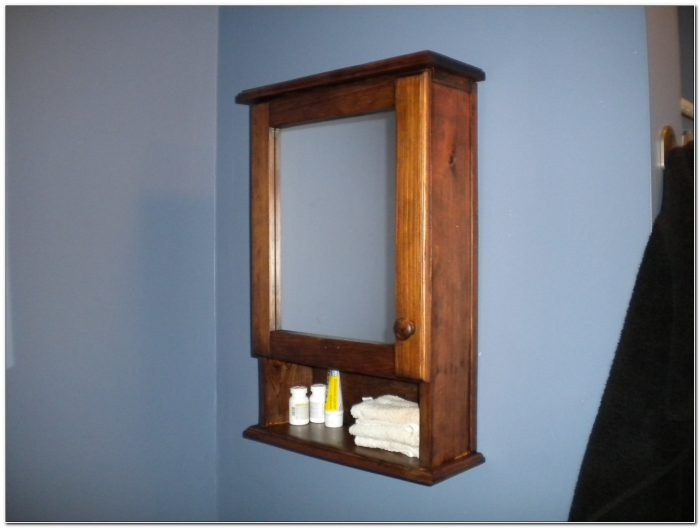 Unfinished Wood Medicine Cabinets For Bathrooms