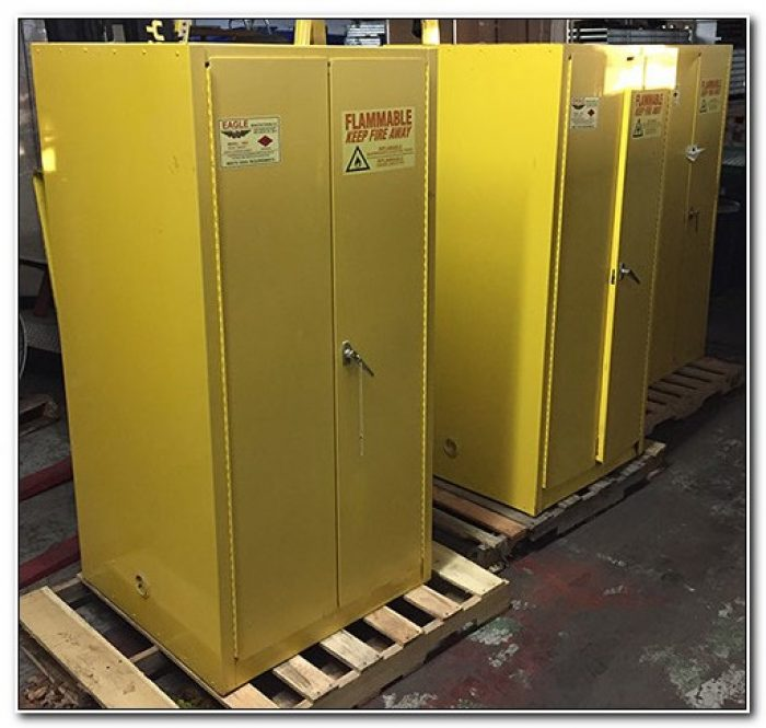 Used Flammable Storage Cabinet Houston Texas