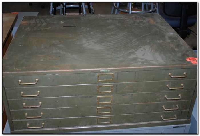 Used Flat File Cabinet Chicago