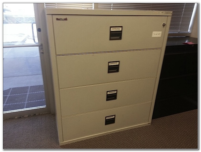 Used Lateral Fireproof File Cabinets