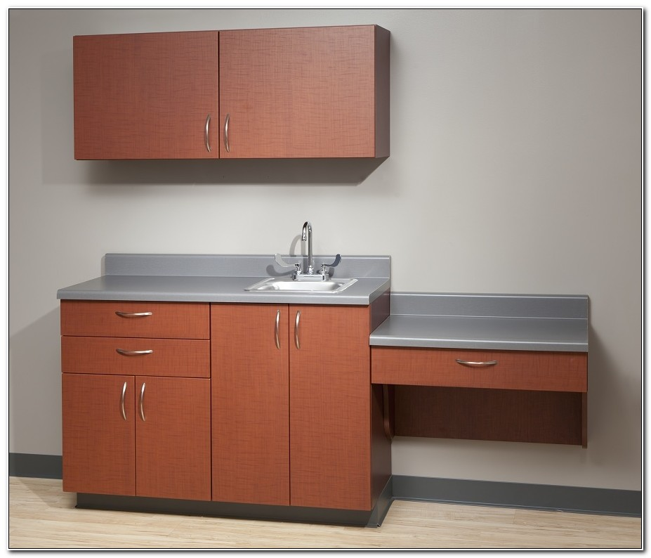 Used Medical Exam Room Cabinets
