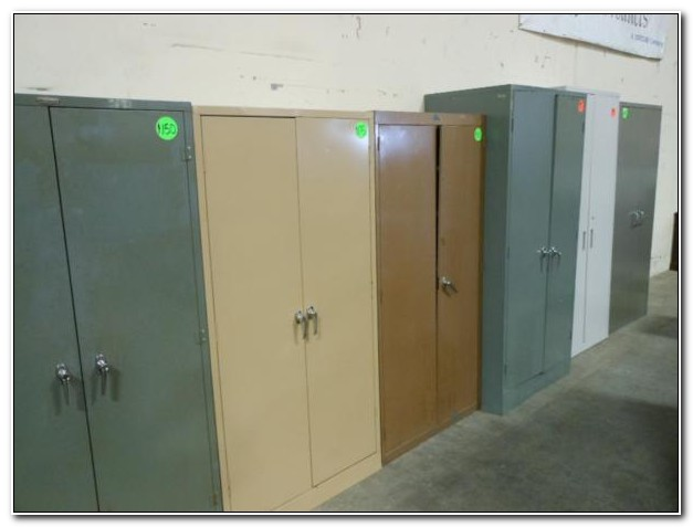 Used Metal Office Storage Cabinets