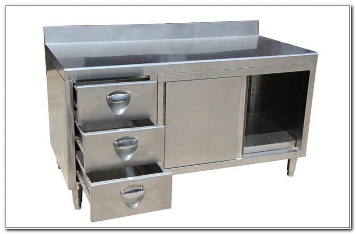 Used Restaurant Stainless Steel Cabinets
