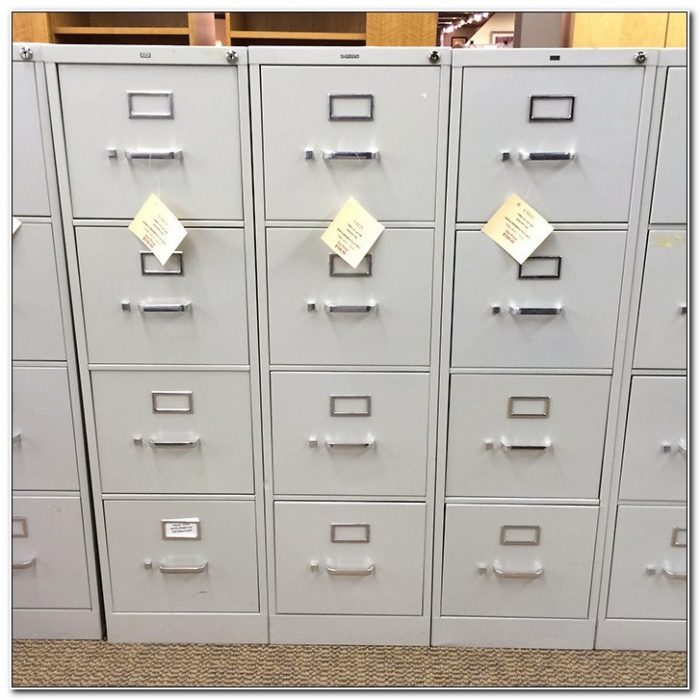 Used Vertical File Cabinet 4 Drawer