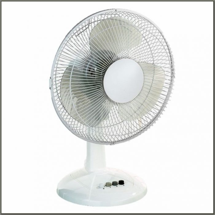 12 Inch Desk Fan Homebase