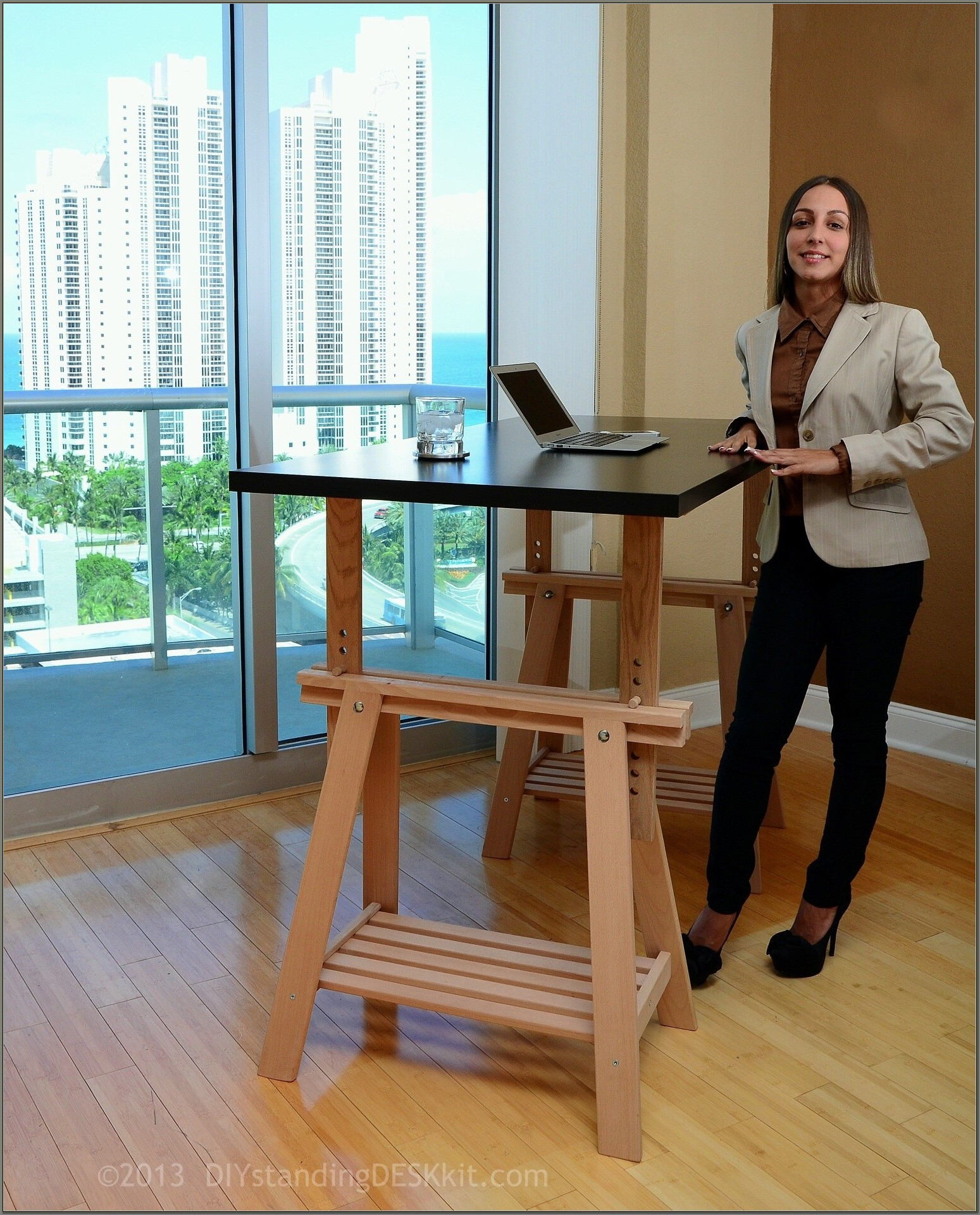 Adjustable Height Desk Diy
