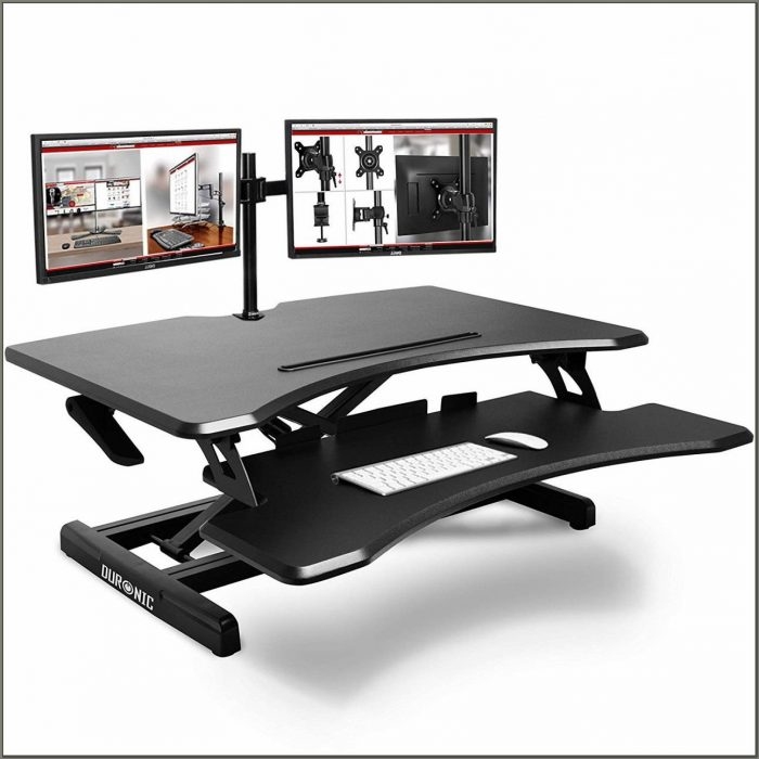 Adjustable Height Workstation Desk