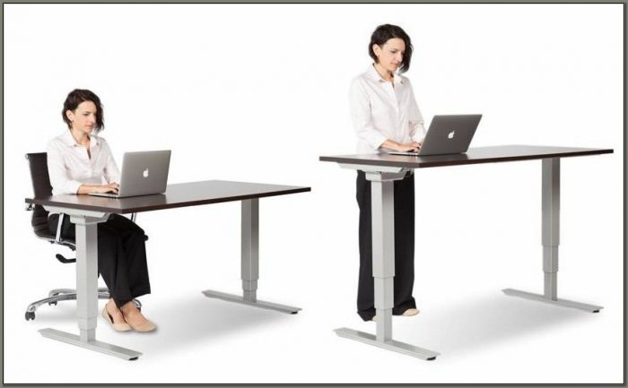 Adjustable Standing Desk Converter Staples